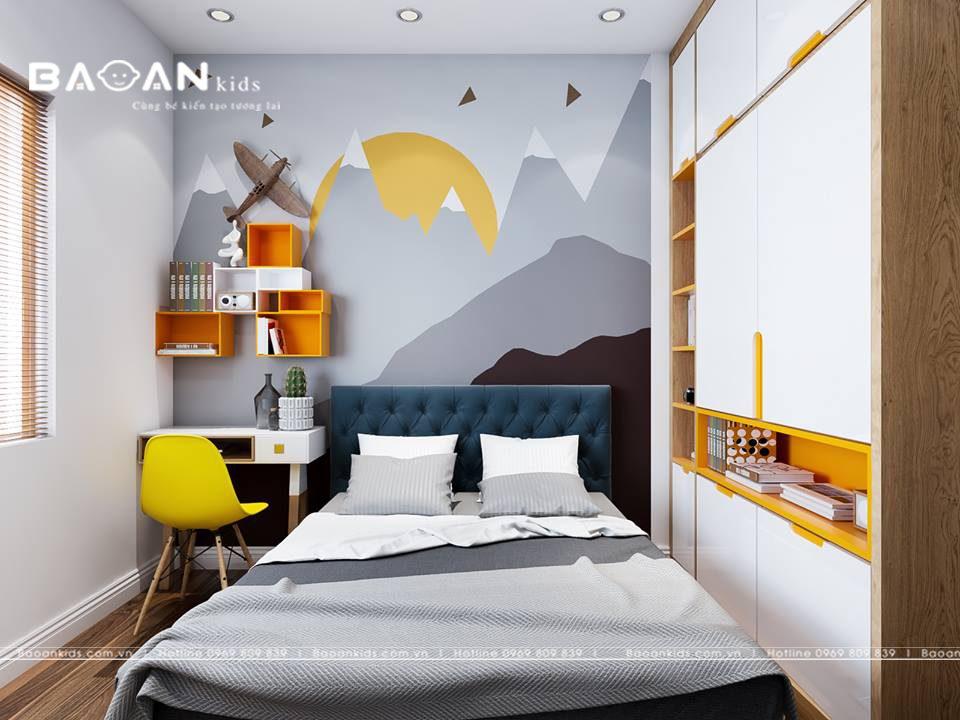 Thiết kế nội thất cho phòng ngủ nhỏ 8m2