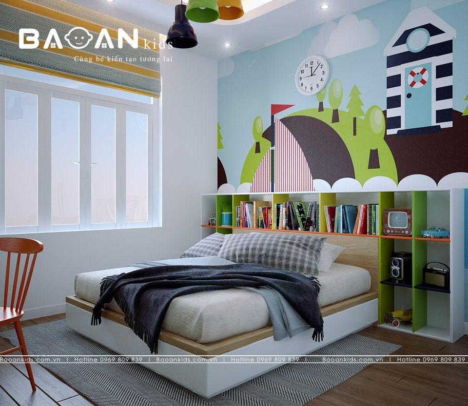 Phòng ngủ bé gái sáng tạo view 1