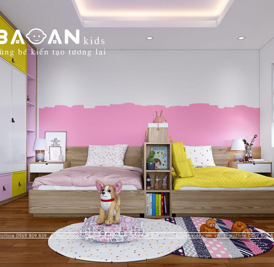 Phòng ngủ con gái sáng tạo