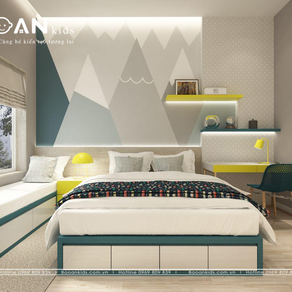 Thiết kế phòng ngủ đơn giản bt17 img3