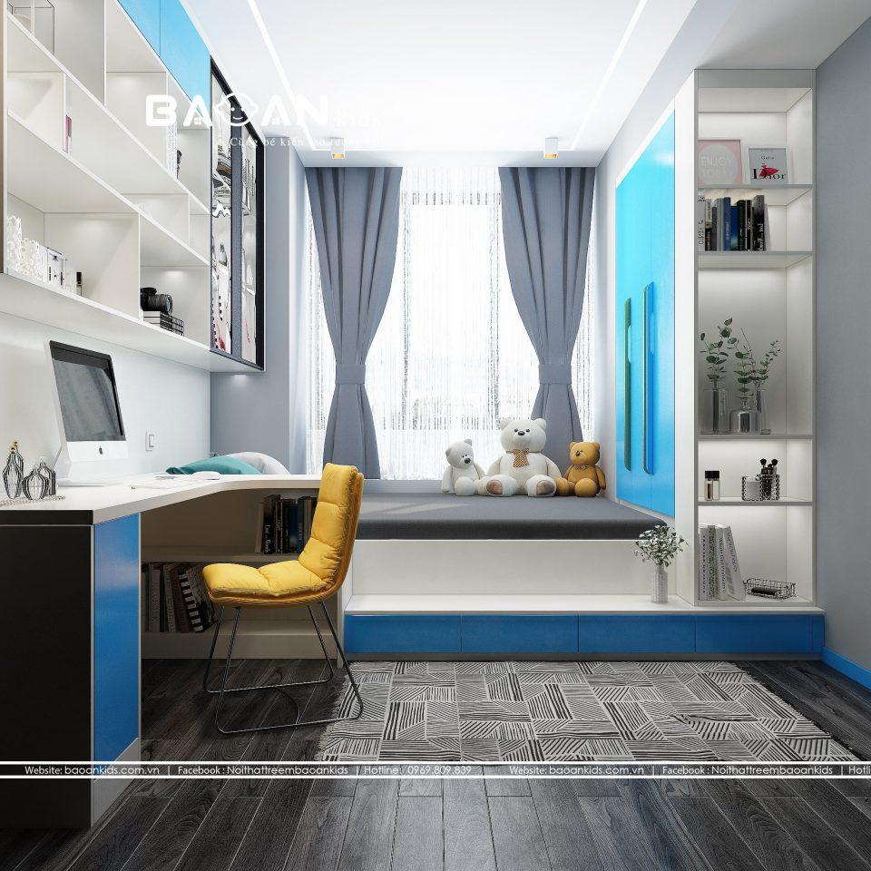 Cách bố trí phòng ngủ nhỏ hẹp view 2