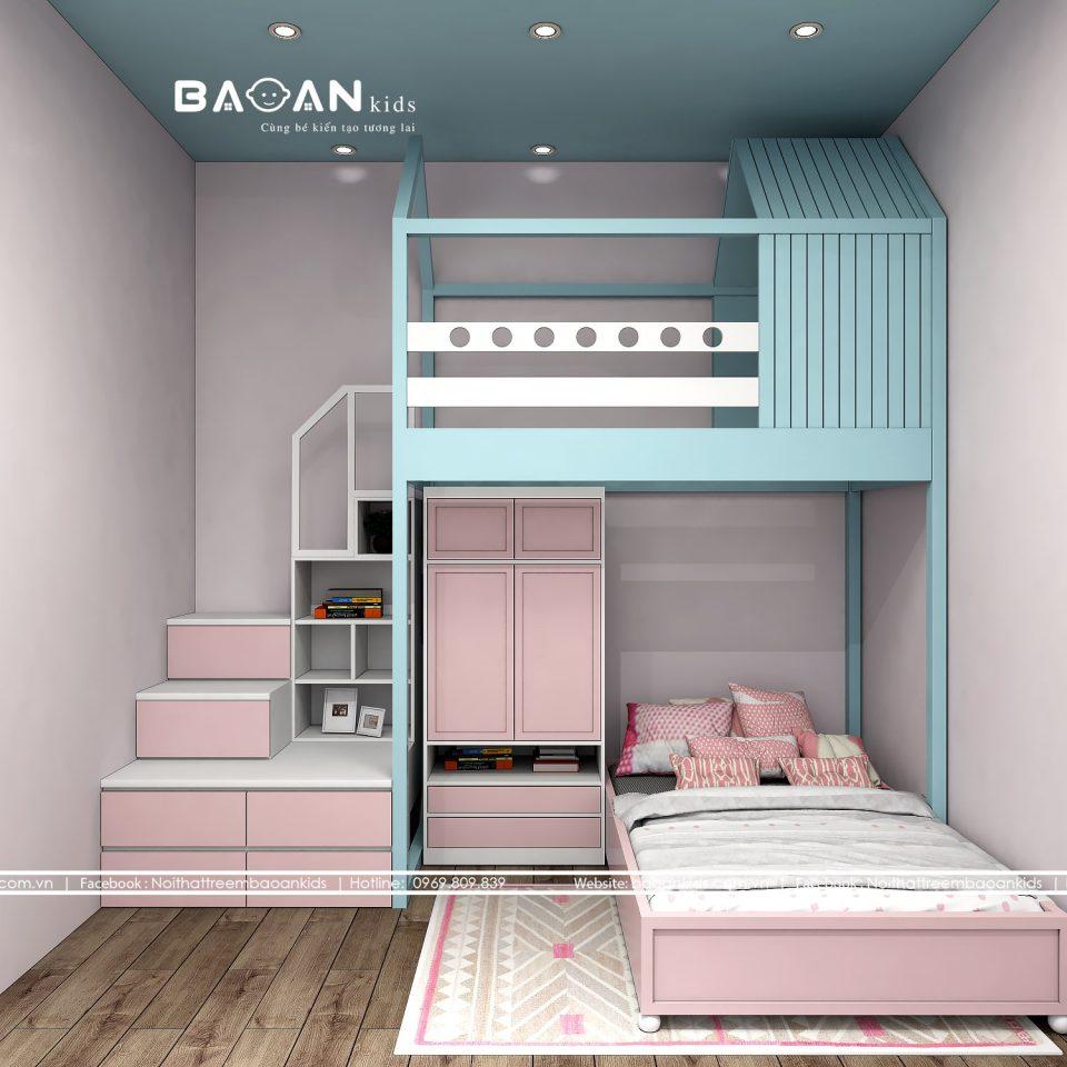 giường tầng hiện đại Gt22