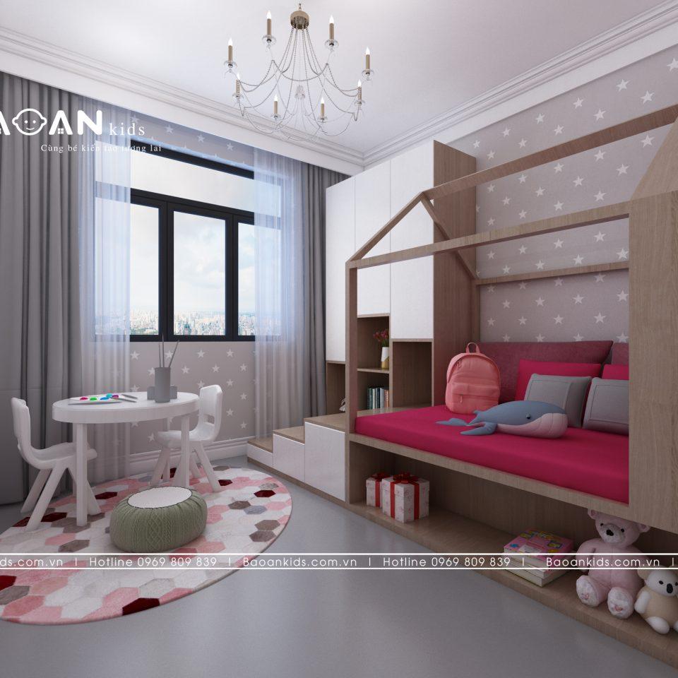 BG28 diện tích phòng ngủ cho con gái